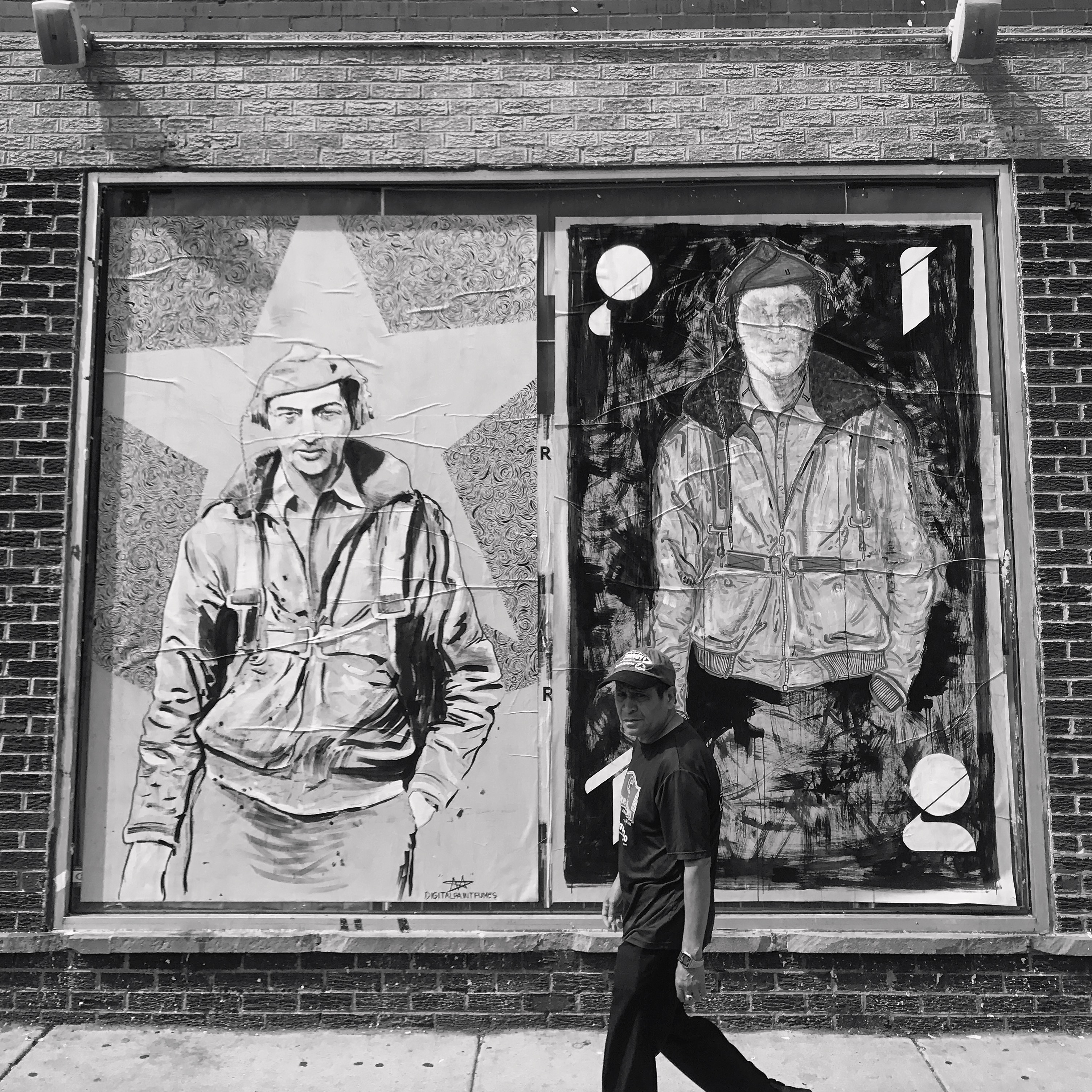"PITR/Pizza In The Rain's Ambitious ""Good Example"" Project in Chicago Artes & contextos Good Example 4 Portrait of Howard Zinn Matt Wojtan x PITR"