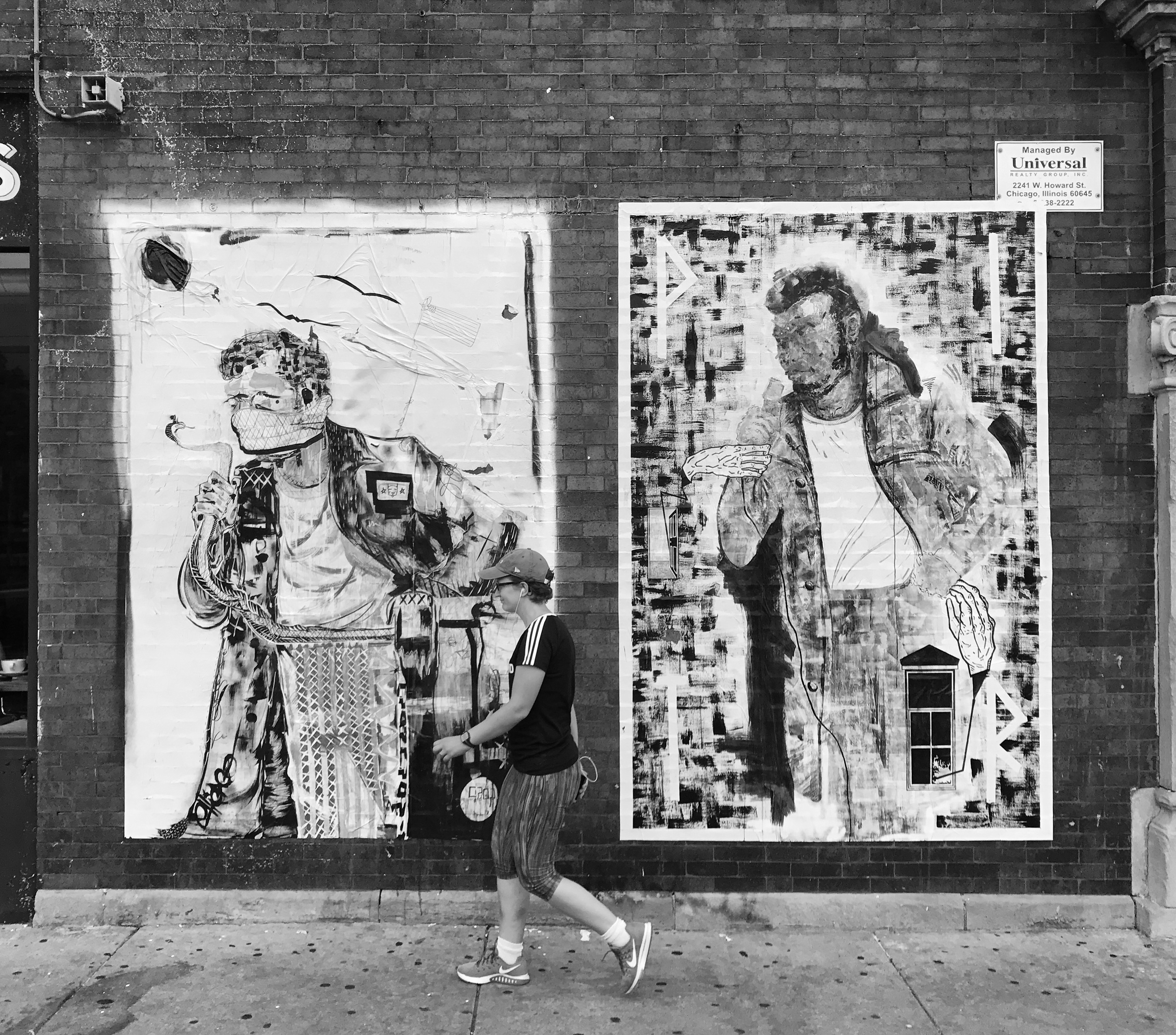 """PITR/Pizza In The Rain's Ambitious """"Good Example"""" Project in Chicago Artes & contextos Good Example 5 Portrait of Fred Hampton Crop x PITR"""