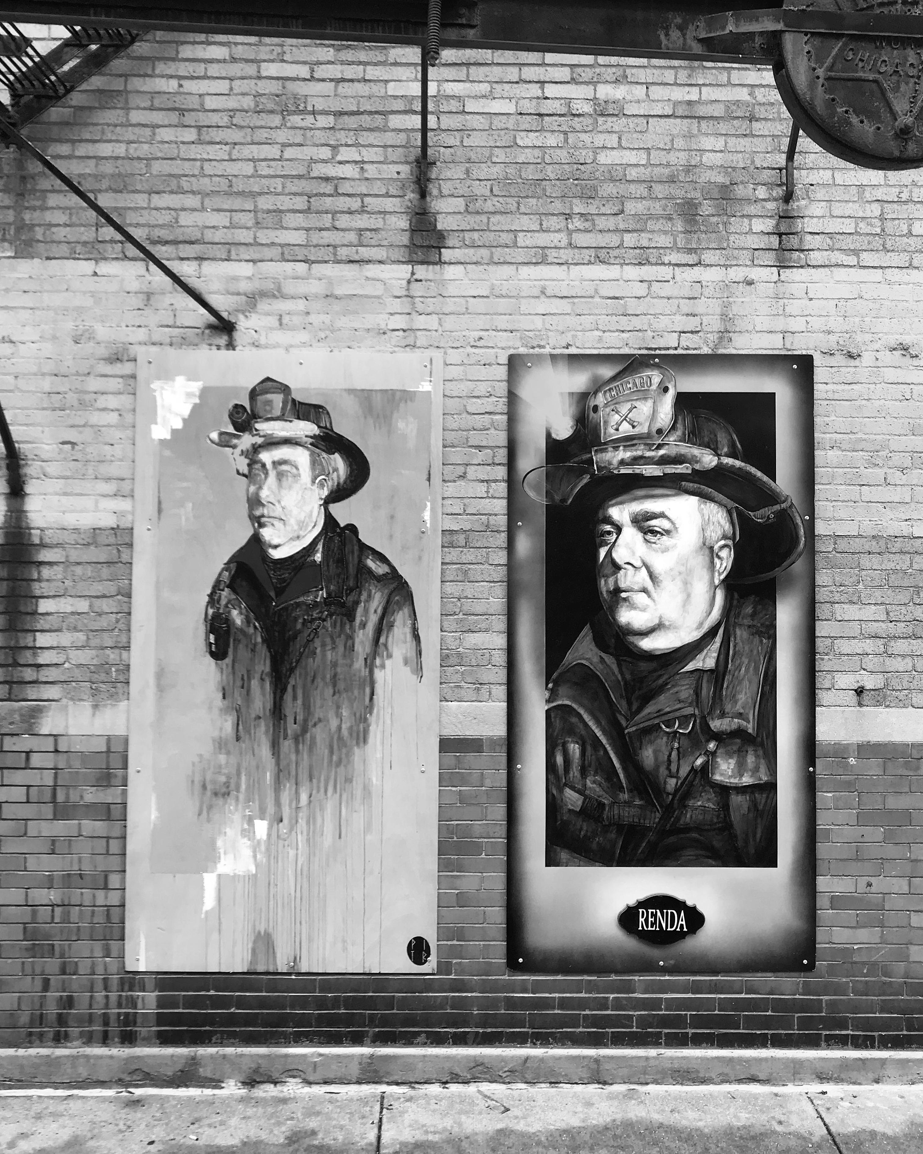 "PITR/Pizza In The Rain's Ambitious ""Good Example"" Project in Chicago Artes & contextos Good Example 7 Portrait of Joe Renda Sr. Joe Renda x PITR"