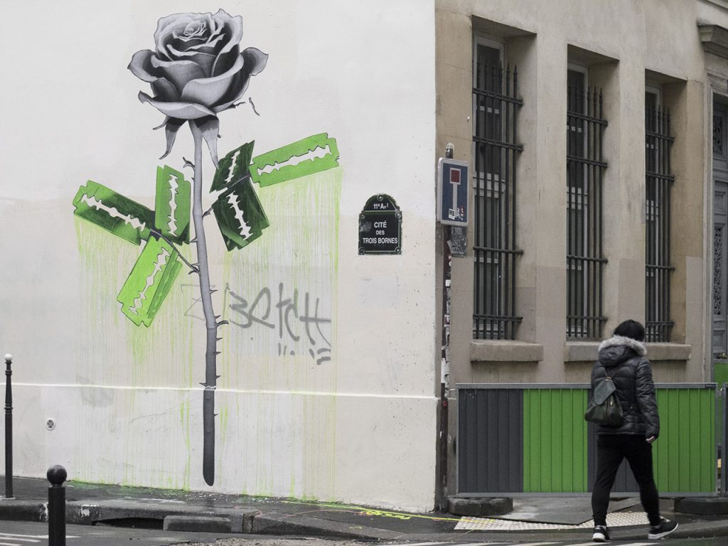 Several new pieces by Ludo in Paris, France