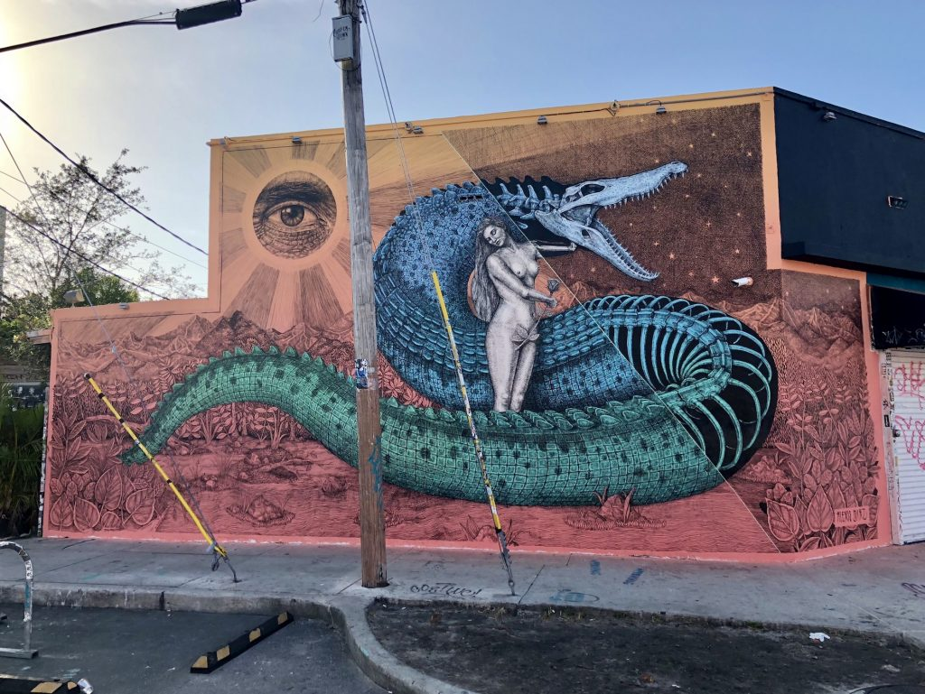 """Lilith"" by Alexis Diaz in Wynwood, Miami"