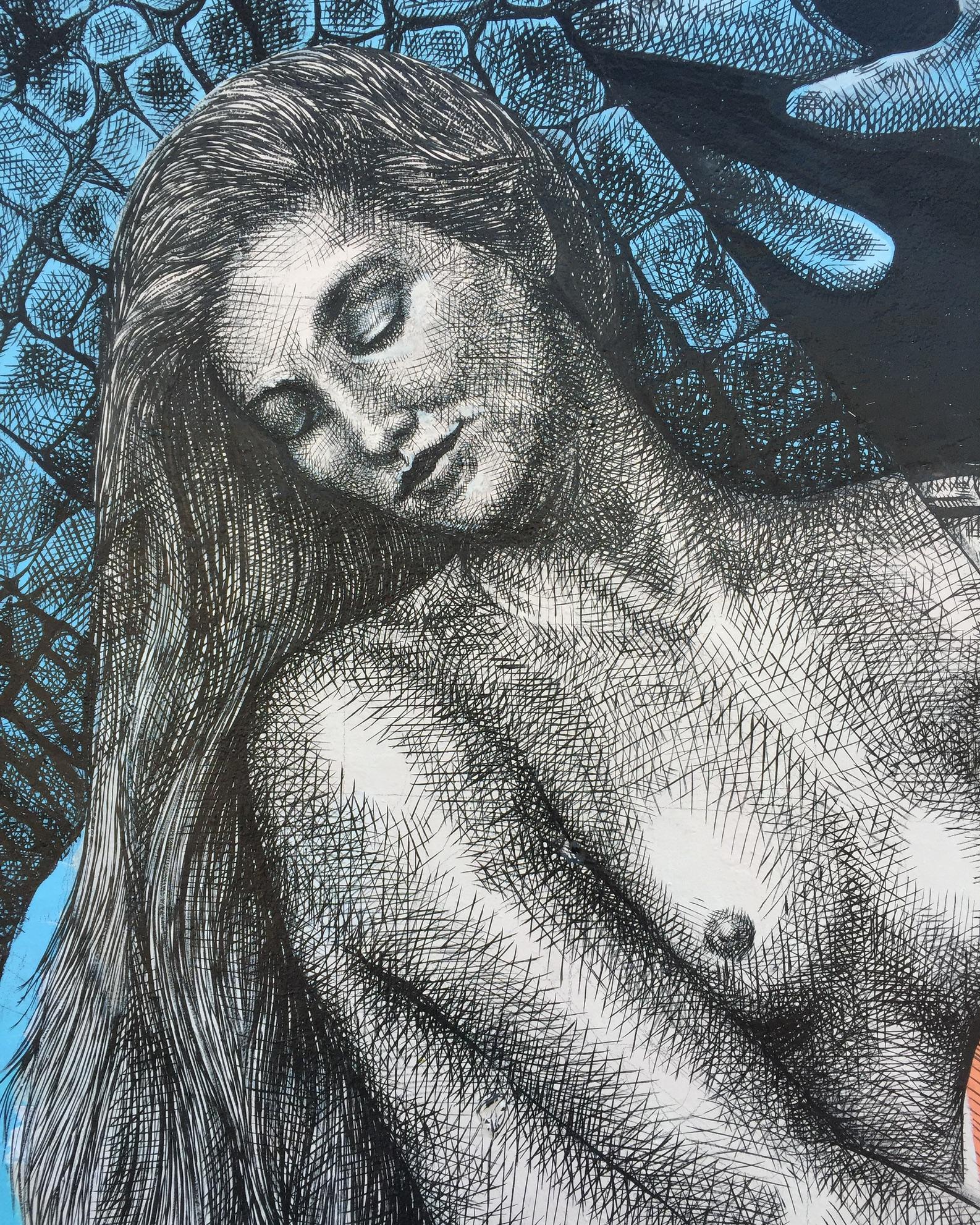 """""""Lilith"""" by Alexis Diaz in Wynwood, Miami Artes & contextos Lilith by Alexis Diaz in Wynwood Miami5"""