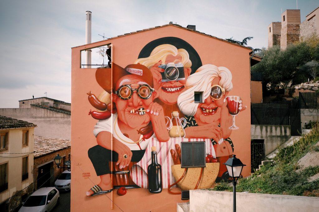 Marina Capdevila in Falset, Spain
