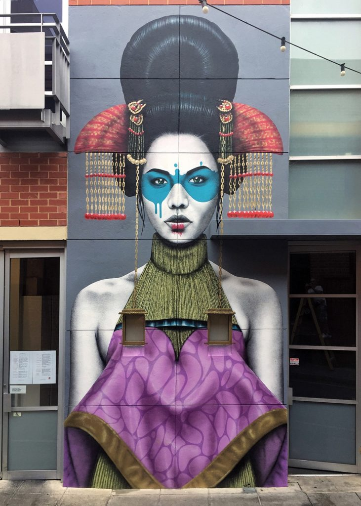 """Zaluuokhin"" by Fin DAC in Adelaide"