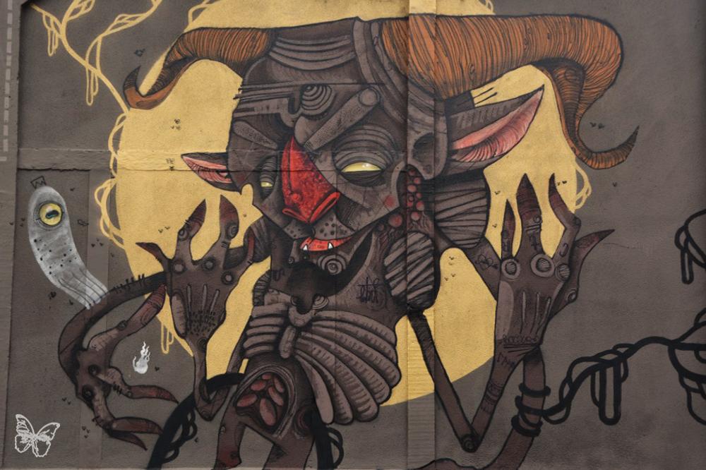 100TAUR Massive Mural in Toulouse Artes & contextos 100taur 07