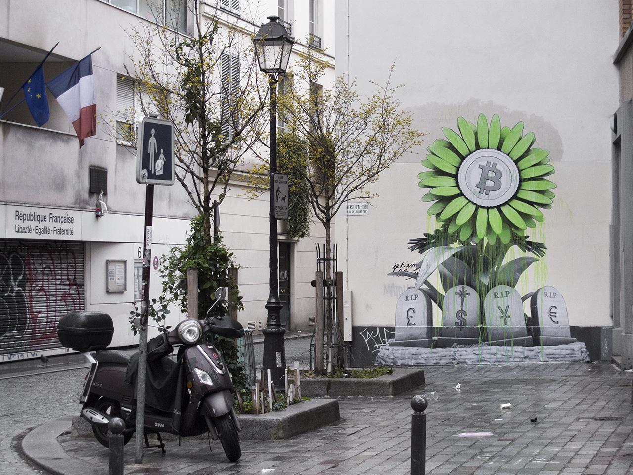 """R.I.P Banking System"" by Ludo in Paris Artes & contextos IMG 4614 copy"