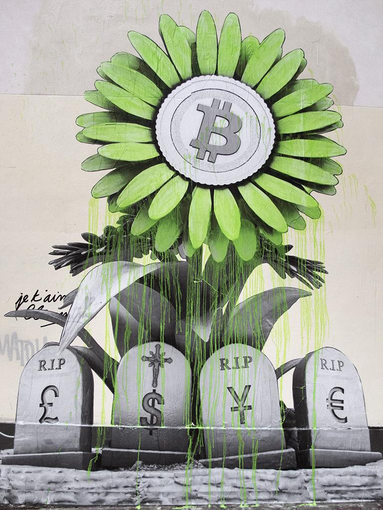 """R.I.P Banking System"" by Ludo in Paris Artes & contextos IMG 4628 copy"