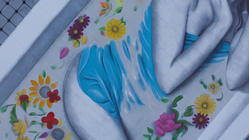 """The Wild Rose"" by Fin DAC for Wynwood Walls, Miami Artes & contextos finDAC Miami 5"