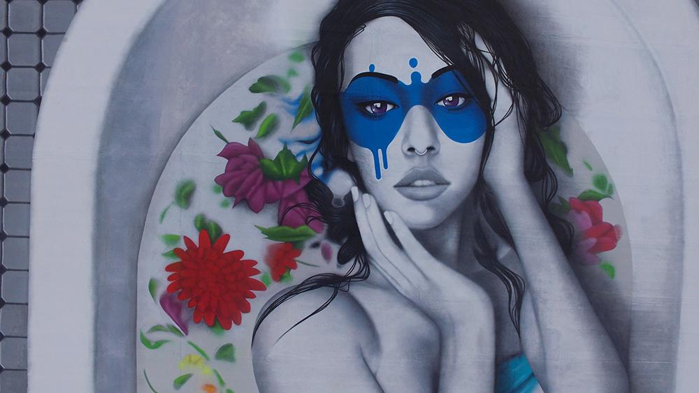 """The Wild Rose"" by Fin DAC for Wynwood Walls, Miami Artes & contextos finDAC Miami 6"