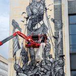 """""""Le colosse aux pieds d'argile"""" by Monkeybird in Paris, France"""