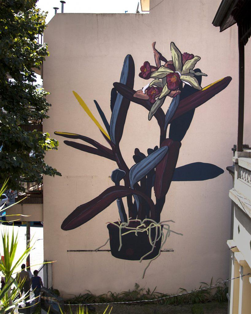 """Grandma's Garden"" by Pastel in Buenos Aires"