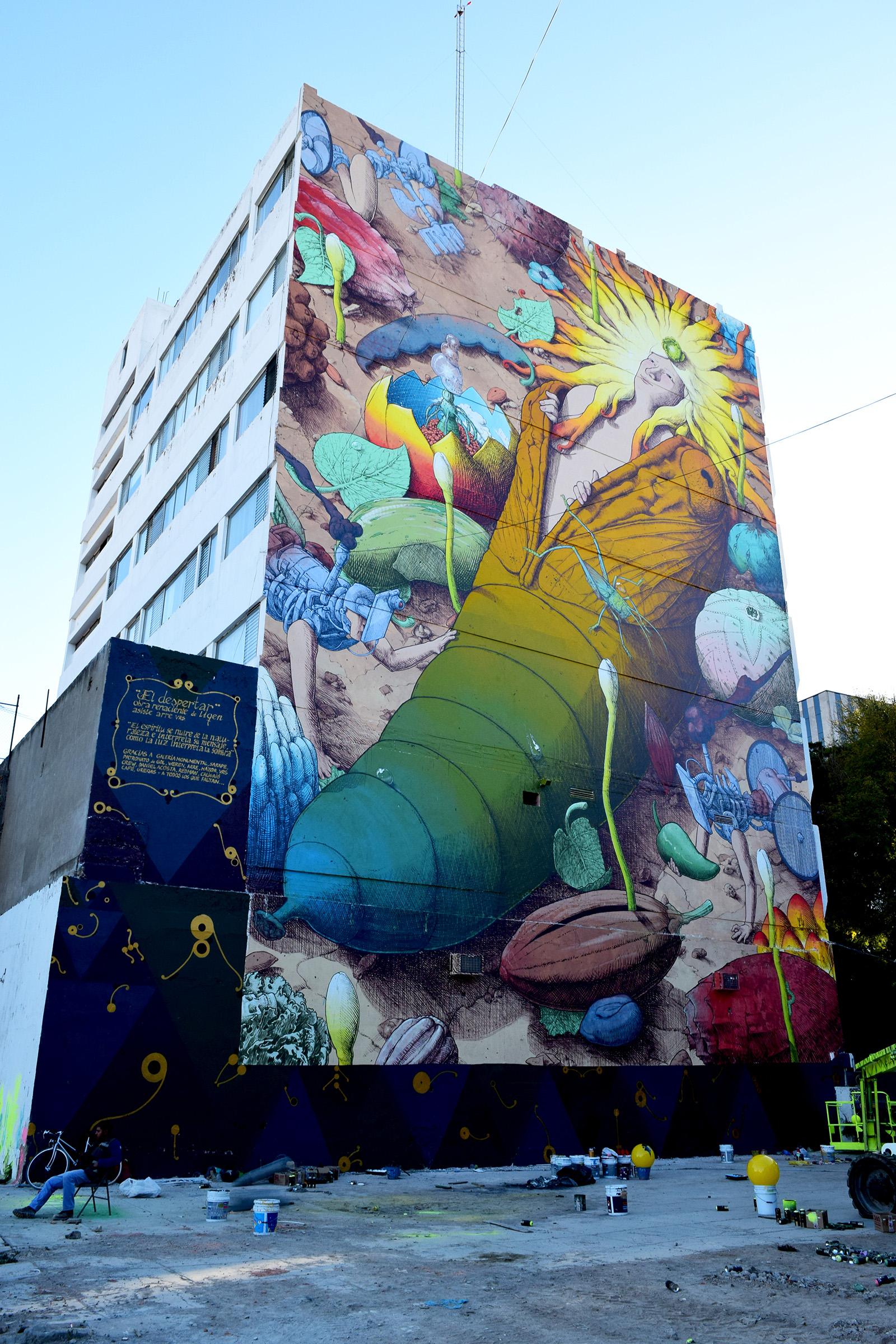 """""""El despertar del tiempo"""" by Liqen in Guadalajara, Mexico Artes & contextos 21 b"""