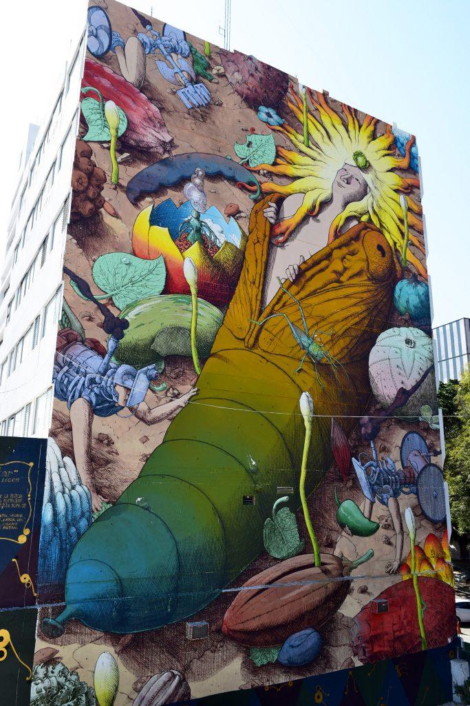 """""""El despertar del tiempo"""" by Liqen in Guadalajara, Mexico"""