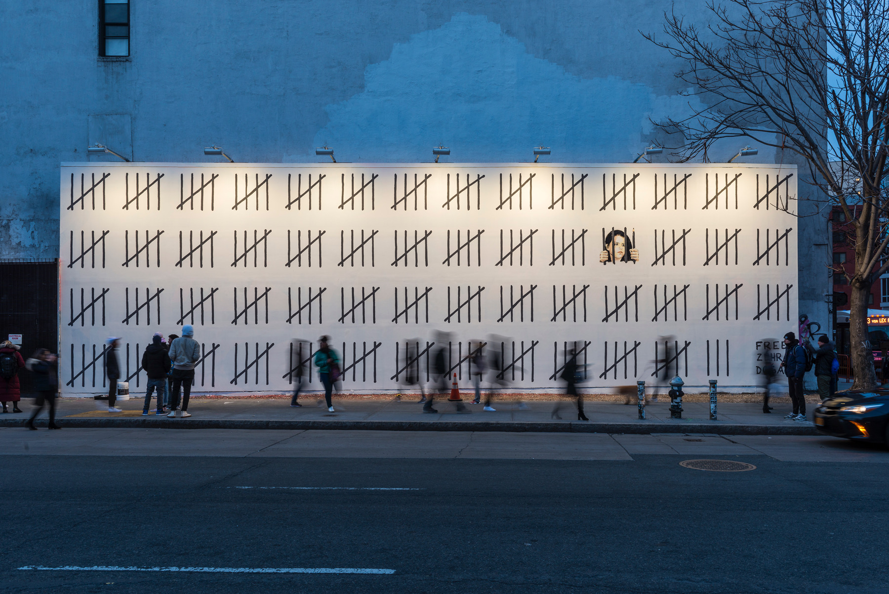 Banksy Takes Over Houston Bowery Wall in New York City Artes & contextos image1111