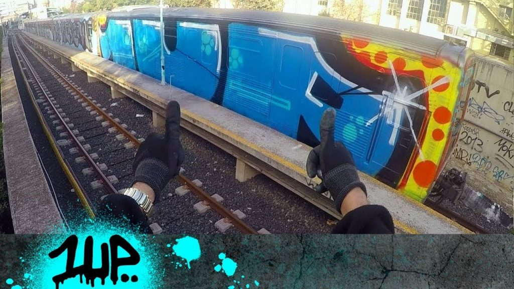 1UP Crew – Graffiti Olympics