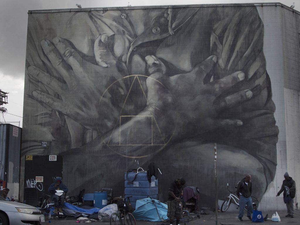 """Salus Populi Suprema Lex Esto"" by Faith XLVII in Los Angeles"