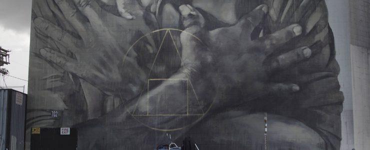 """""""Salus Populi Suprema Lex Esto"""" by Faith XLVII in Los Angeles"""