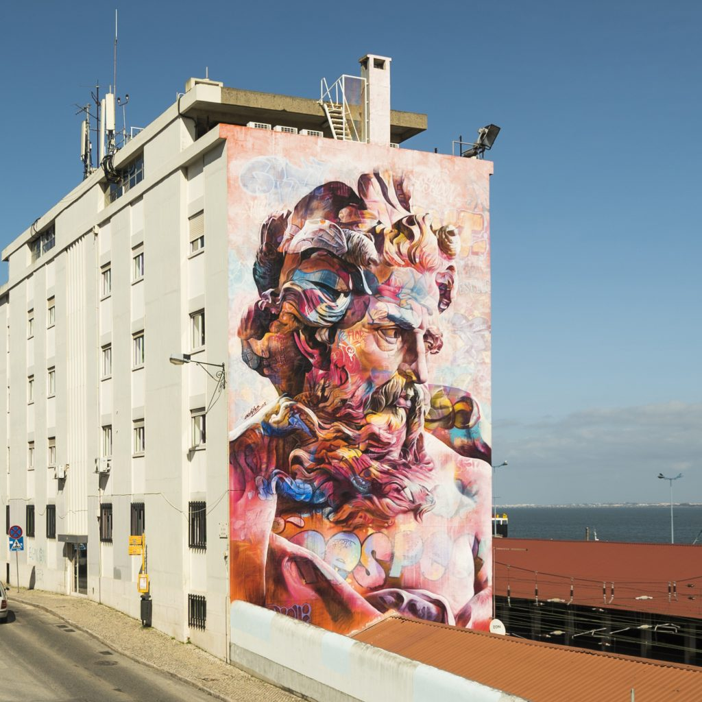 PichiAvo in Santa Apolónia, Lisbon