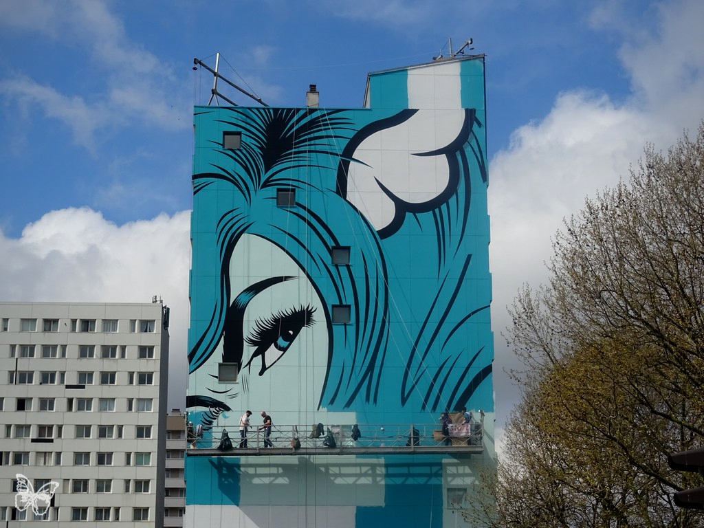 Fornever - Work in progress by D*Face in Paris Artes & contextos DFACE 06