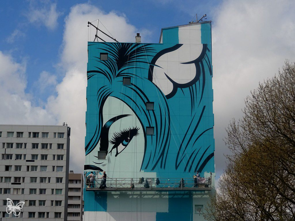 """Fornever"" Work in progress by D*Face in Paris"