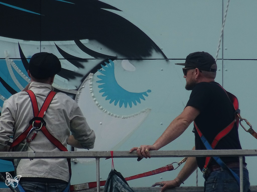 Fornever - Work in progress by D*Face in Paris Artes & contextos DFACE 10