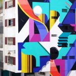 Color Explosion by Murone in Rabat, Morocco