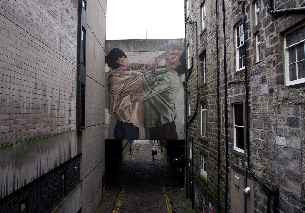 """An affective bond"" by Hyuro in Scotland"