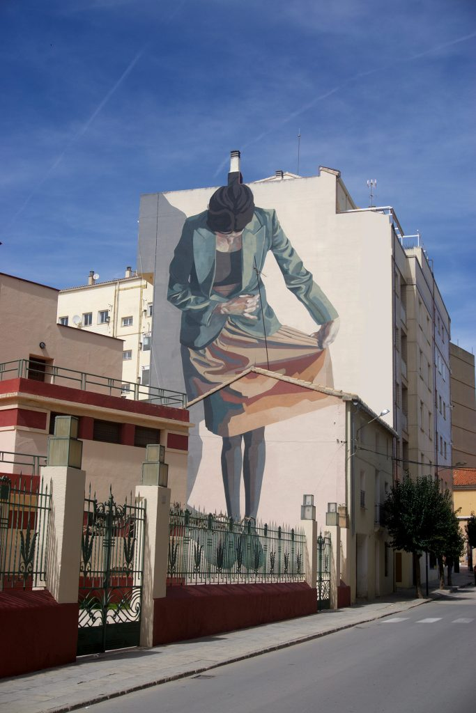 """El saludo"" by Hyuro in Requena, Spain"