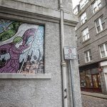 Ceramic Mosaics by Carrie Reichardt for Nuart Aberdeen 2018