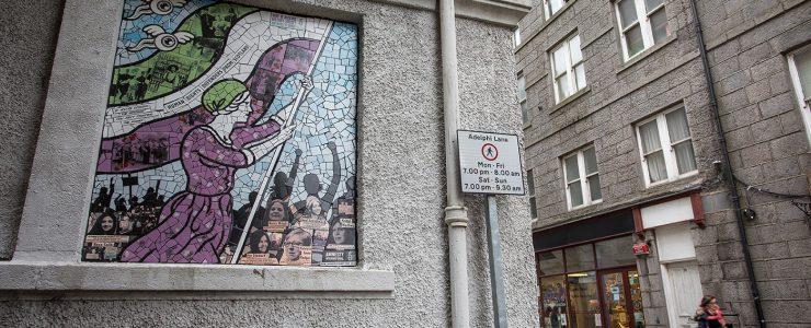 Ceramic Mosaics by Carrie Reichardt for Nuart Aberdeen 2018