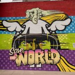 "D*Face ""SAVE THE WORLD"" in Brooklyn, New York City"