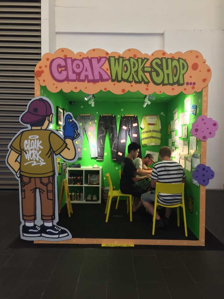 CloakWORK-shop @ Pavilion Kuala Lumpur