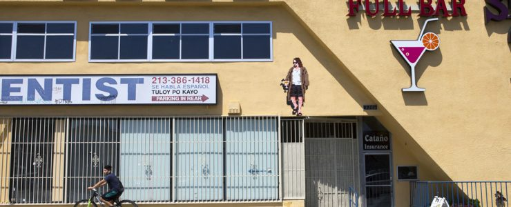 Invader returns to Los Angeles, California