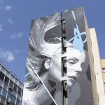 """Lost"" by INO in Piraeus Port, Greece"
