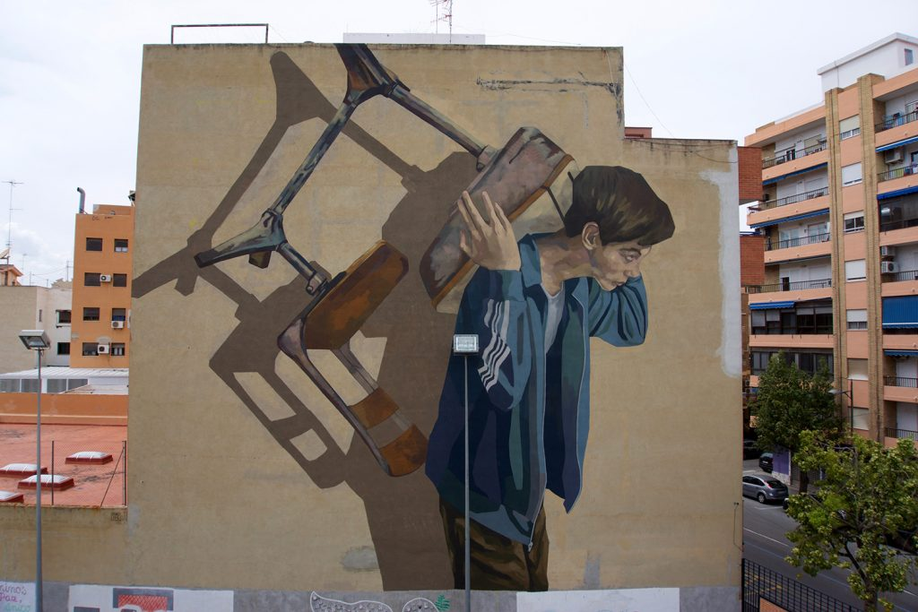 """Education"" by Hyuro in Sagunto, Spain"