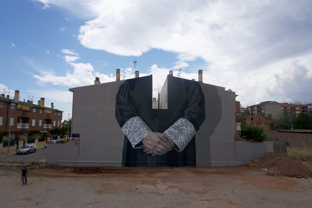 """Patriarcado"" by Hyuro in Vila-Real, Spain"