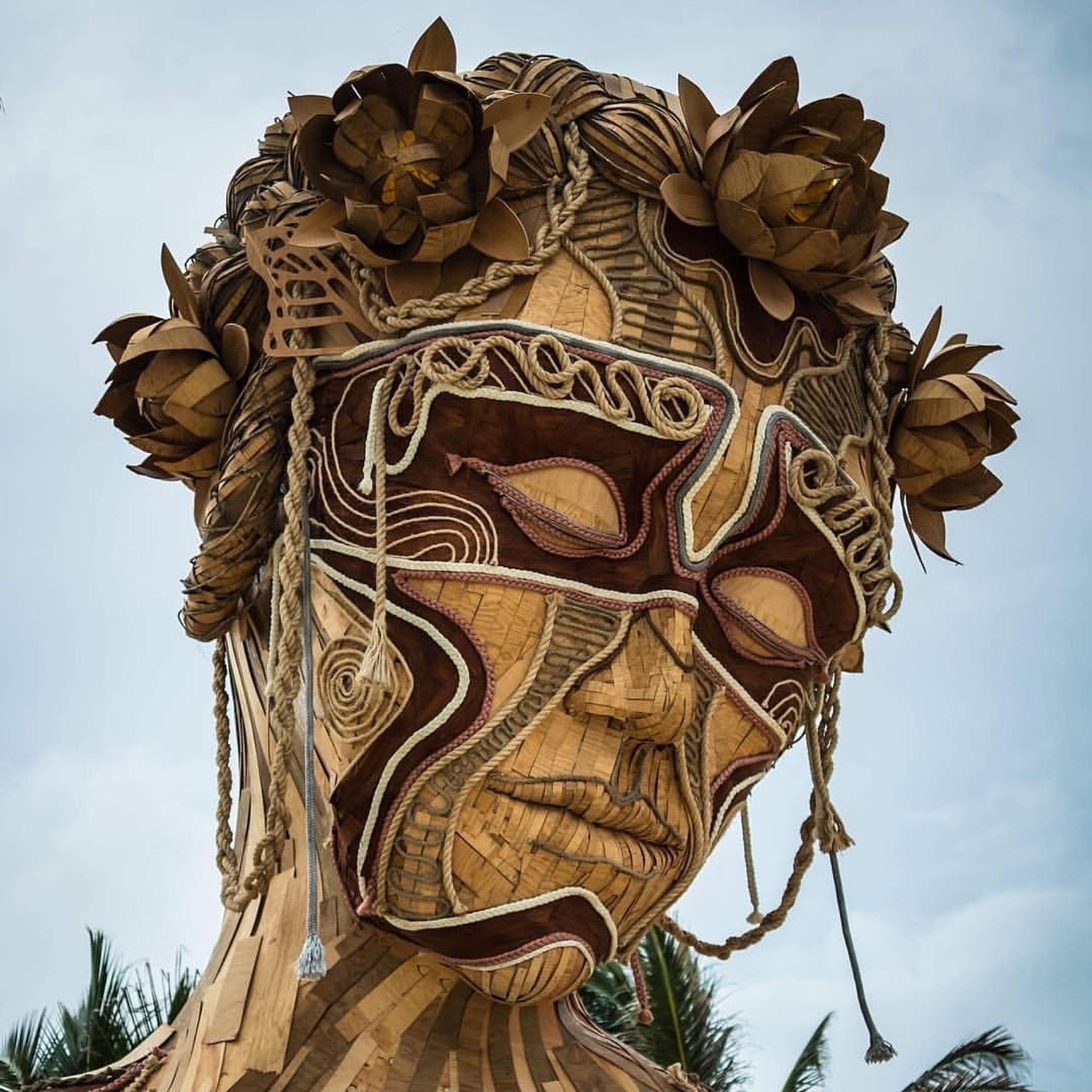"Daniel Poppper ""Ven a la Luz"" Installation in Tulum, Mexico Artes & contextos IMG 20180603 233708 118"