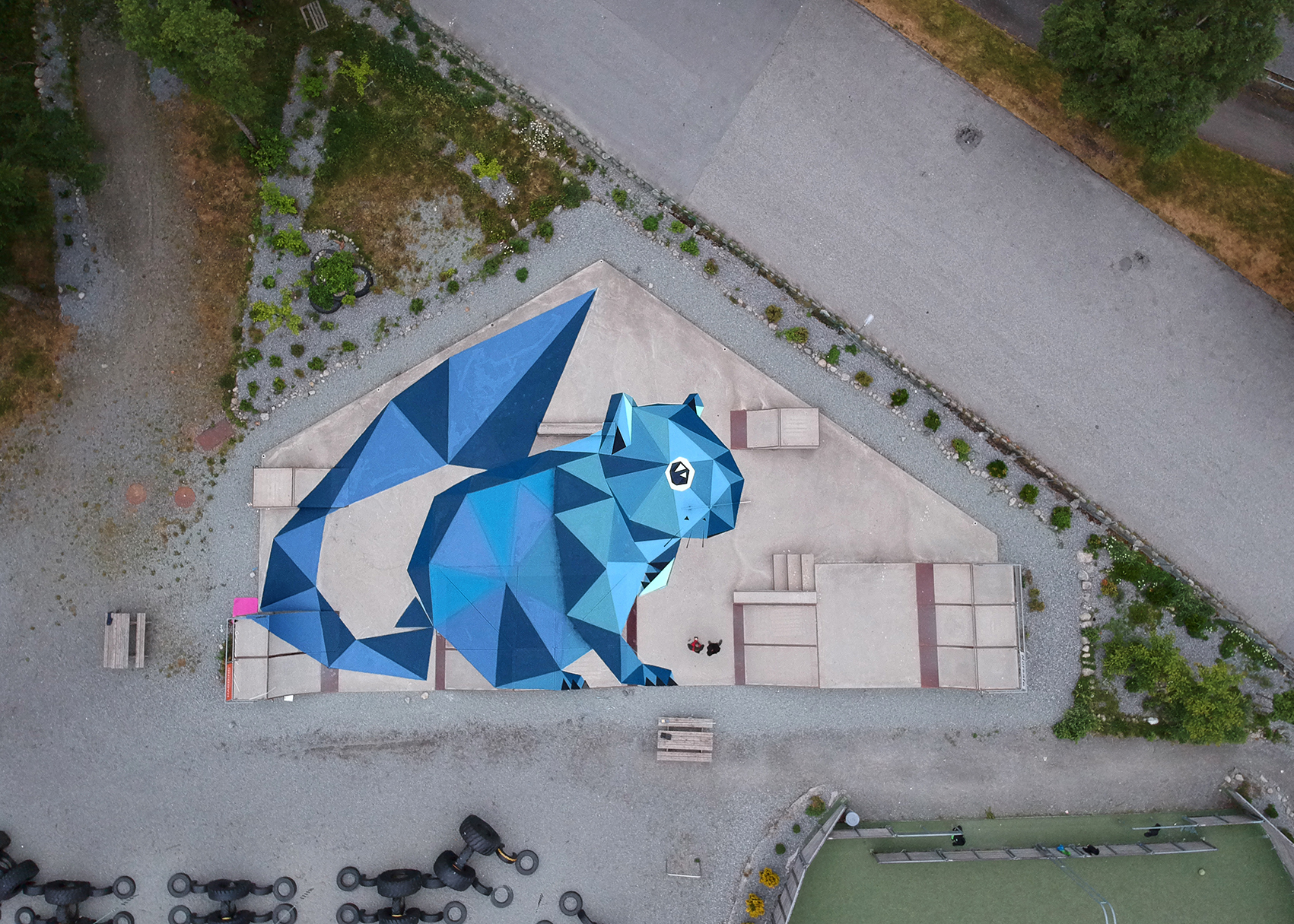 'The squirrel house' by TEN in Norway Artes & contextos Squirrels house 35mt
