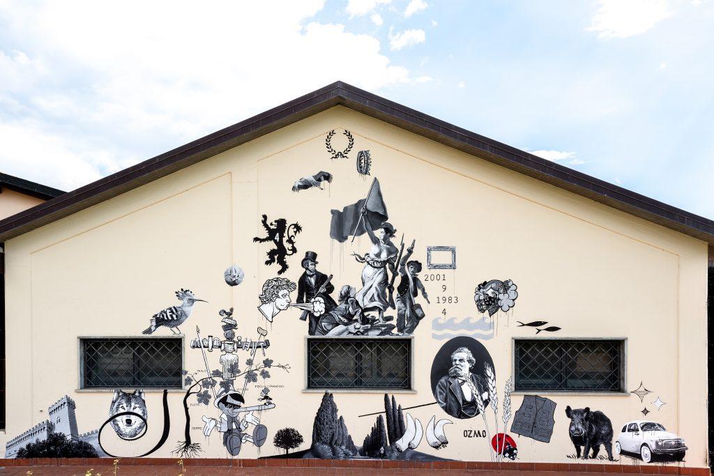 Ozmo in Bolgheri, Italy