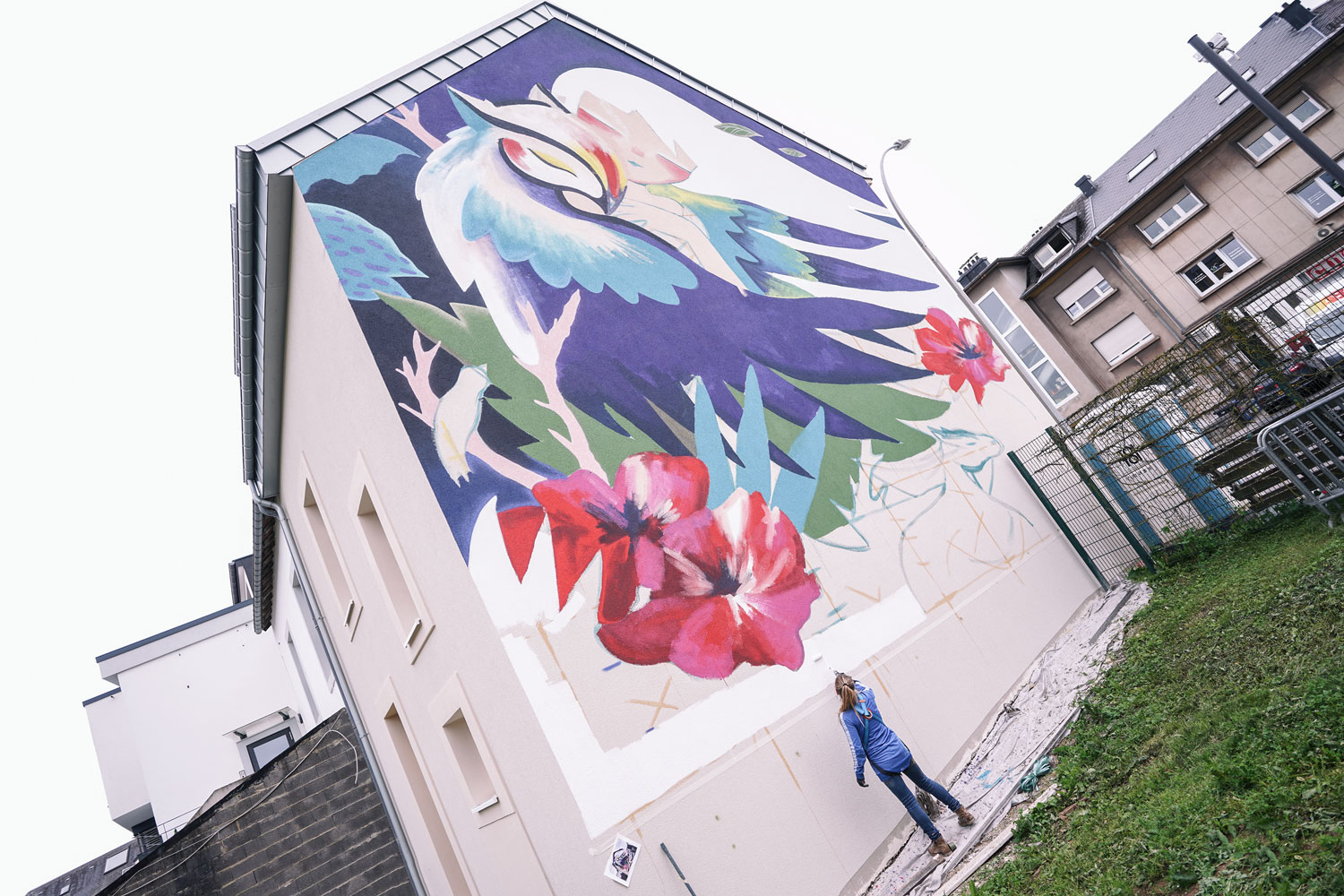 Julieta XLF large mural in Luxembourg Artes & contextos 01 kufas18