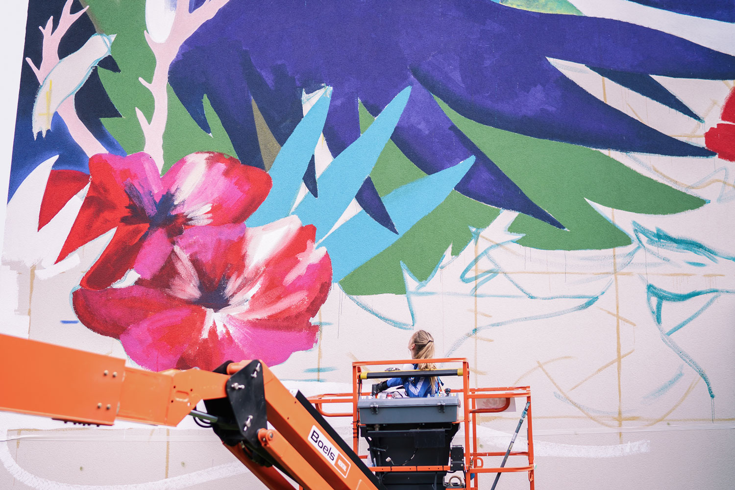 Julieta XLF large mural in Luxembourg Artes & contextos 04 kufas 18