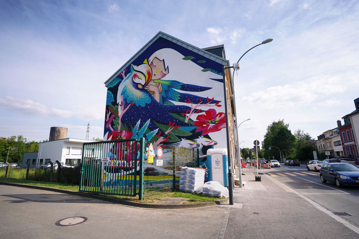 Julieta XLF large mural in Luxembourg Artes & contextos 09 kufas18