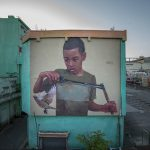 """Hoy Villa Francisca"" a new Mural Project in Dominican Republic"