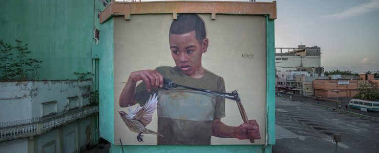 """Hoy Villa Francisca"" a new Mural Project in Dominican Republic"