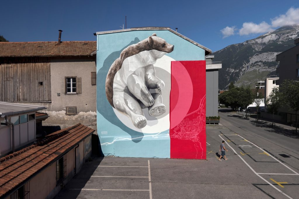 """Home Ground"" by Never Crew in Chur, Switzerland"