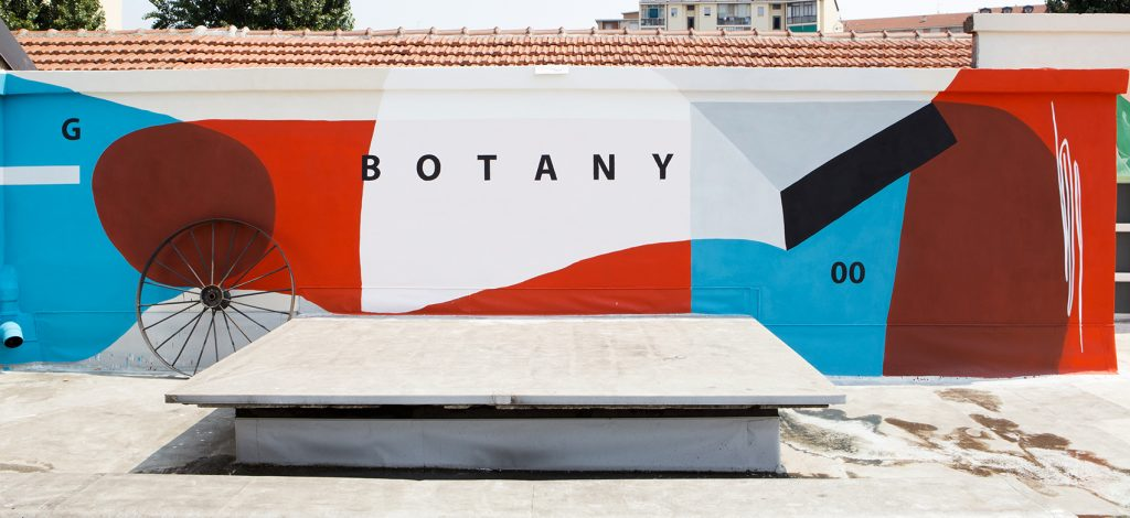 BOTANY by Giulio Vesprini on the rooftop in Turin, Italy