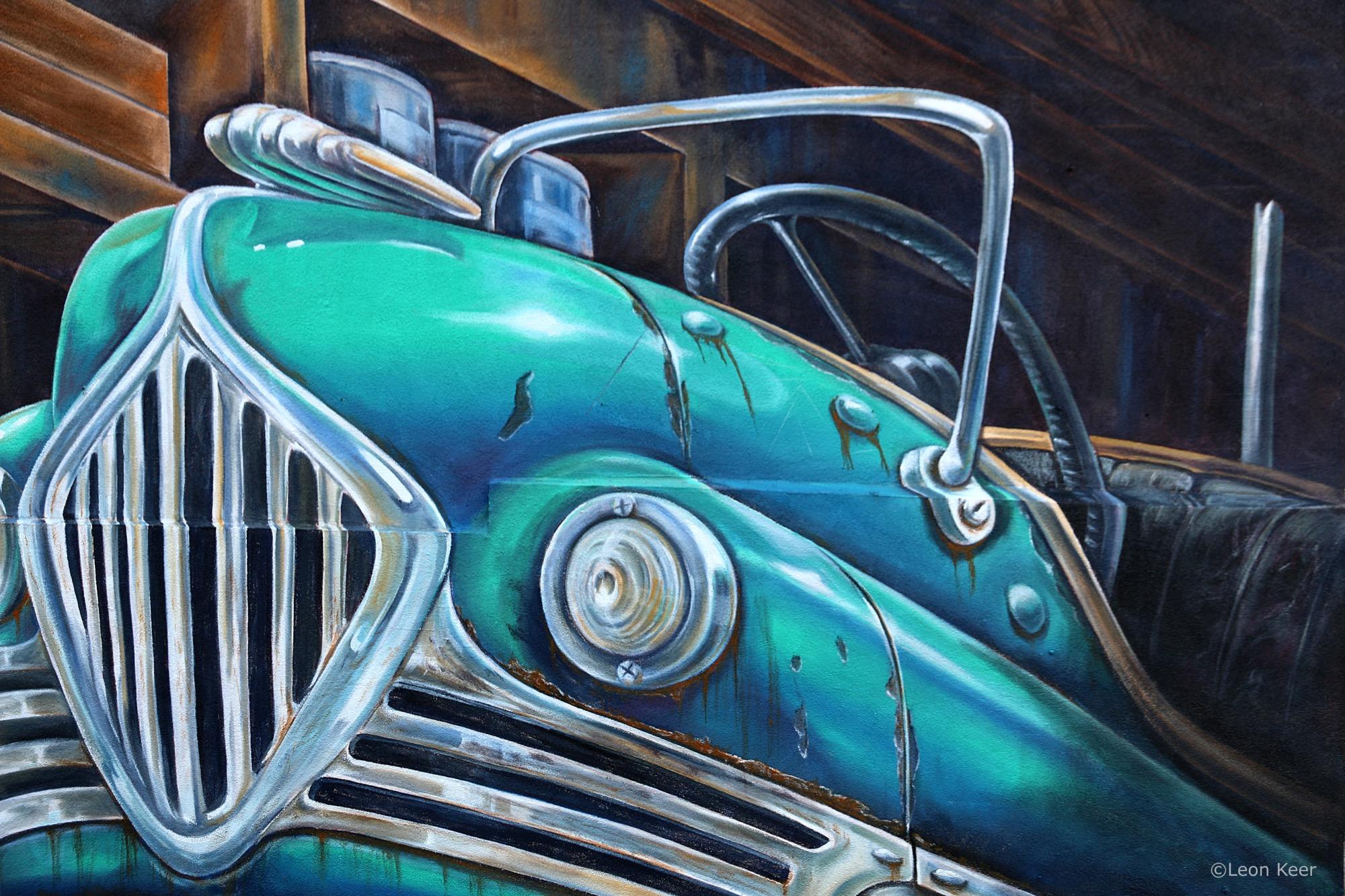 Leon Keer in Long Beach, California Artes & contextos bumpercar mural powwow leonkeer 43242351322 o
