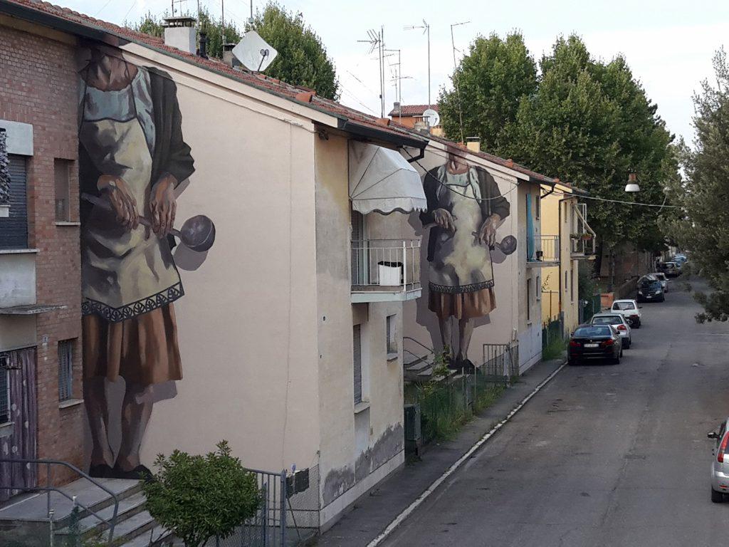 """L'Arzdora"" by Hyuro in Cotignola, Italy"