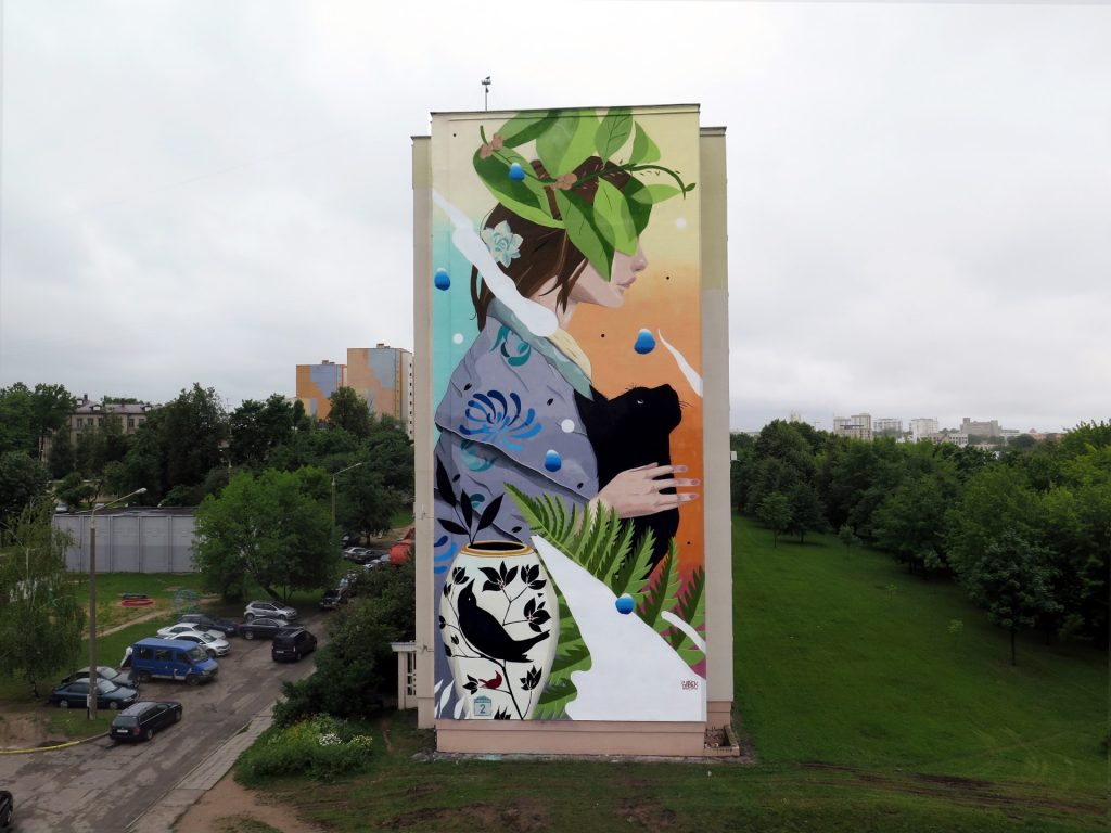 """Domestication"" by Sabek in Minsk, Belarus"
