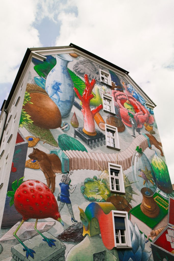 """The Cabinet of curiosities"" by Liqen in Munich, Germany"